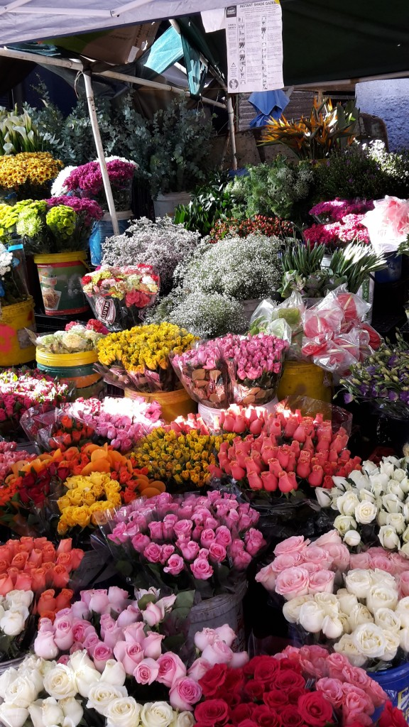 The Adderley Street Flower Market