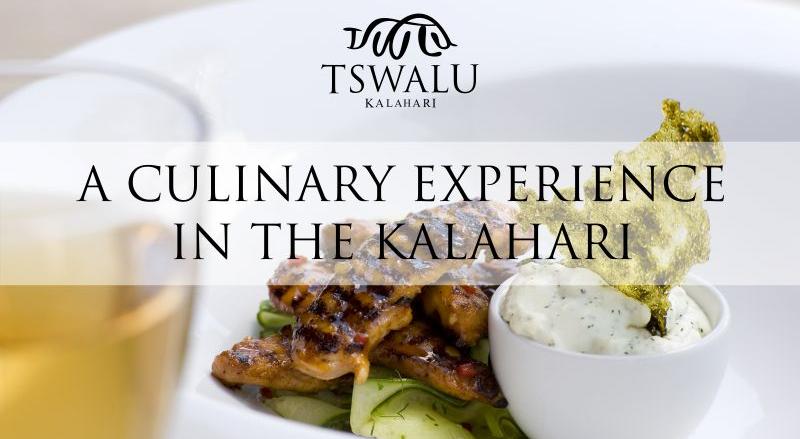 Tswalu Culinary Tour-Pic 1